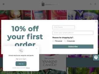 celebrategifts.co.uk screenshot
