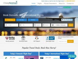 cheapfaremart.com screenshot