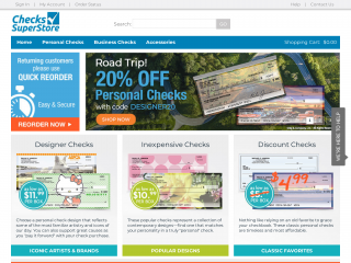 checks-superstore.com screenshot