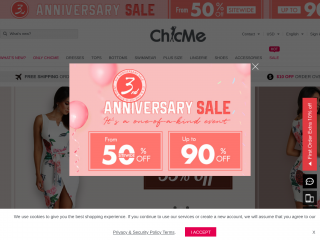 chicme.com screenshot