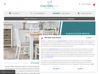 chilternoakfurniture.co.uk screenshot