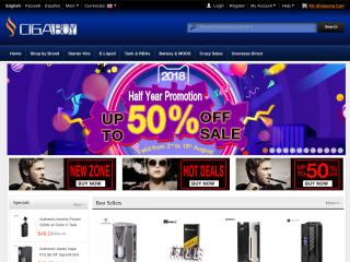 cigabuy.com screenshot