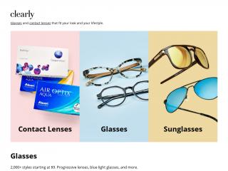 clearly.com.au screenshot