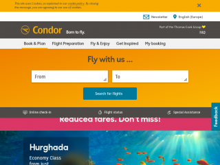 condor.com screenshot