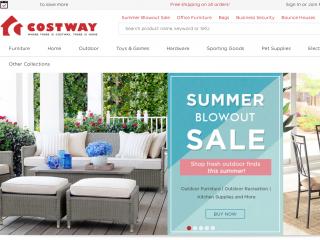 costway.com screenshot