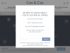 Cox and Cox coupons