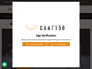 craft56.co.uk screenshot