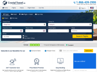 crystaltravel.us screenshot