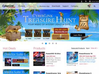 cyberlink.com screenshot