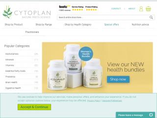 cytoplan.co.uk screenshot