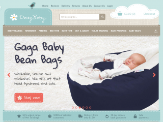 daisybabyshop.co.uk screenshot
