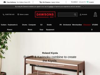 dawsons.co.uk screenshot