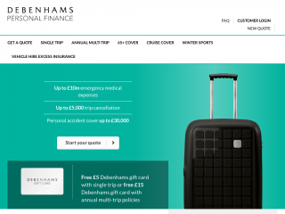 debenhams-travelinsurance.com