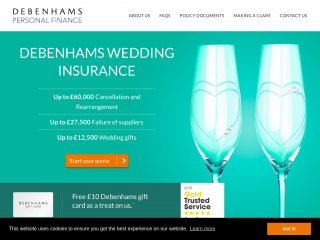 debenhamsweddinginsurance.com
