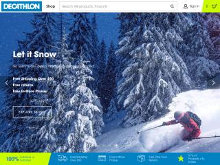 decathlon.com screenshot