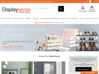 displaysense.co.uk screenshot