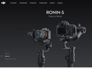 dji.com screenshot