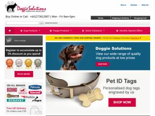 doggiesolutions.co.uk screenshot