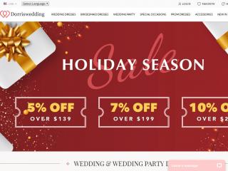 dorriswedding.com
