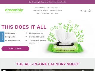 dreambly.com screenshot