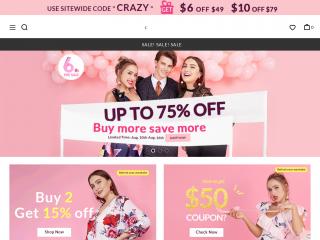 dresslily.com screenshot
