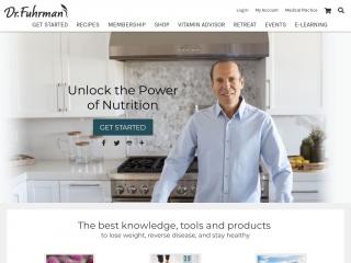 drfuhrman.com screenshot