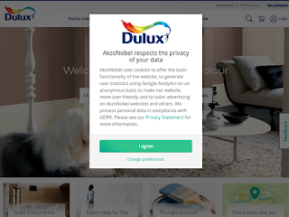 dulux.co.uk screenshot