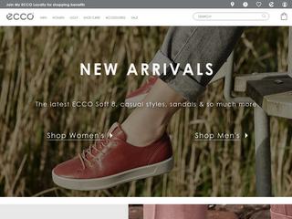ecco.com screenshot