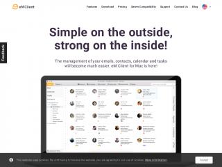 emclient.com screenshot