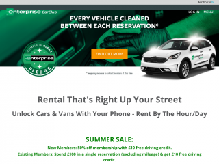 enterprisecarclub.co.uk screenshot
