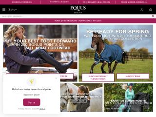 equus.co.uk screenshot