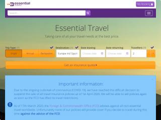 essentialtravel.co.uk screenshot