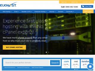 eukhost.com screenshot