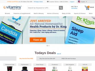 evitamins.com screenshot