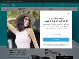 eyeconic.com screenshot