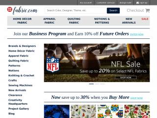 fabric.com screenshot