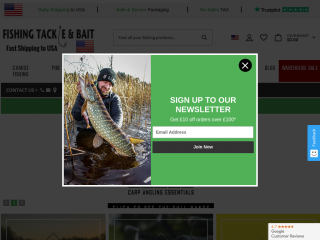 fishingtackleandbait.co.uk screenshot
