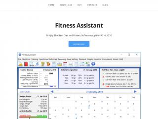 fitnessassistant.net screenshot
