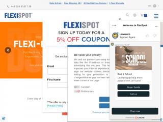 flexispot.co.uk screenshot