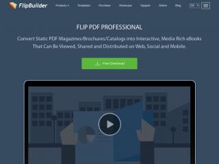 flipbuilder.com screenshot