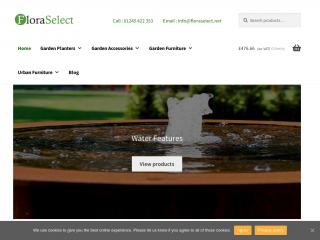 floraselect.net screenshot