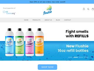 flushie.com screenshot