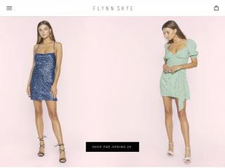 flynnskye.com screenshot