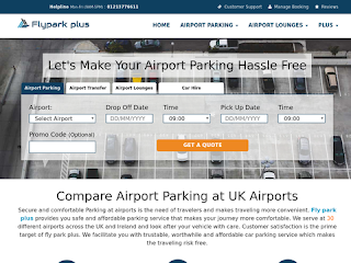 flyparkplus.co.uk screenshot