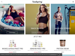 foodspring.de screenshot