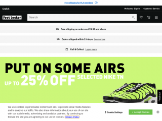 footlocker.co.uk screenshot