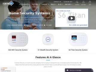 fortresssecuritystore.com screenshot