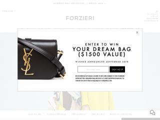 forzieri.com screenshot
