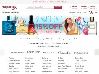 fragrancex.com screenshot