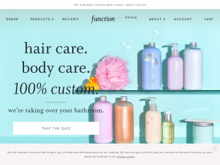 functionofbeauty.com